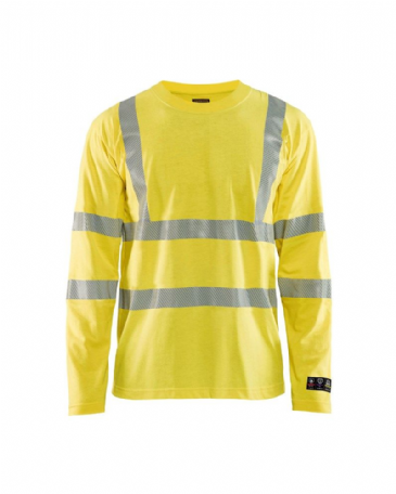 Blaklader 3481 Multinorm T-Shirt Long Sleeves (Yellow)